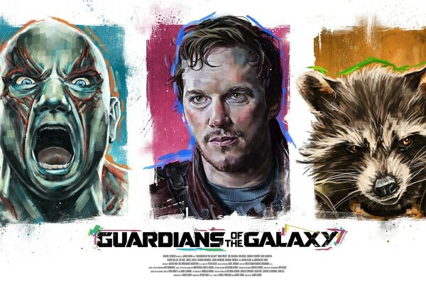 Guardians of the Galaxy Poster Artwork