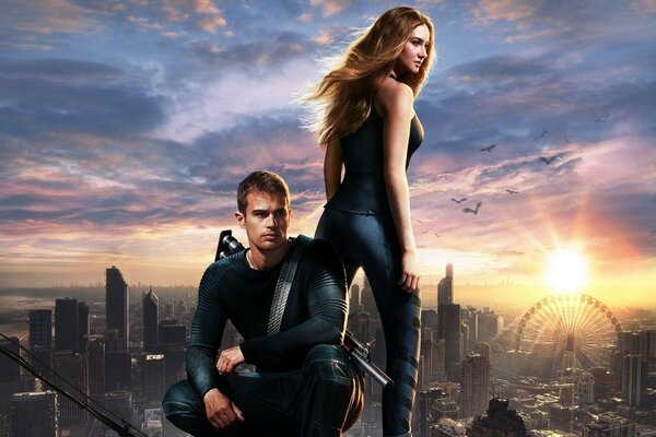 Divergent Four and Tris