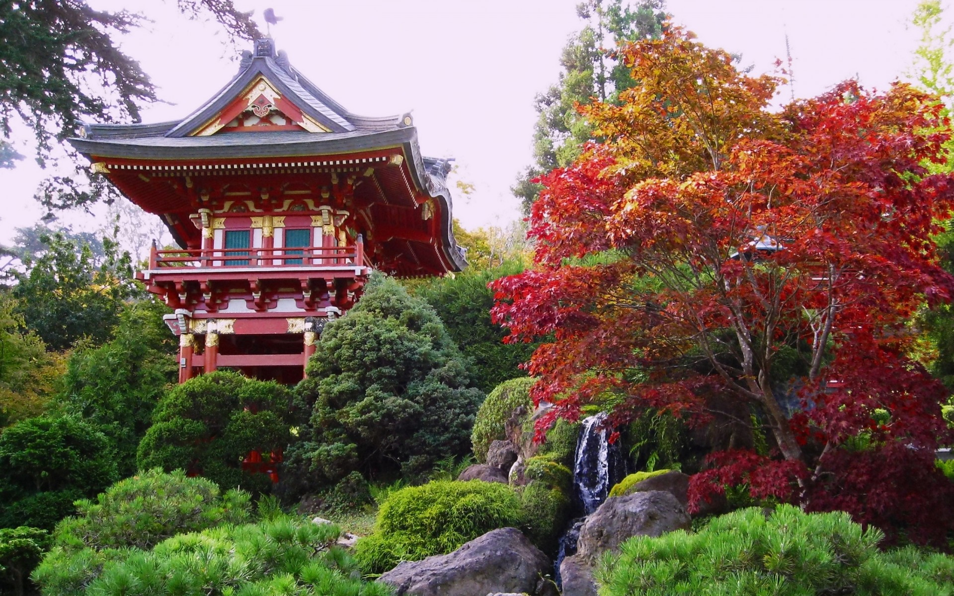 Chinese Garden Android Wallpapers For Free