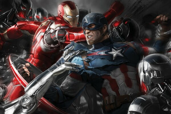 The Avengers Age of Ultron Superheroes