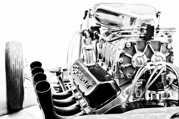 Chevrolet Corvette Engine