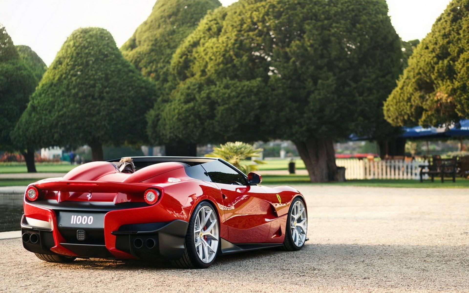 Ferrari Vehicle Car Transportation System Race Furia Rosa Racing