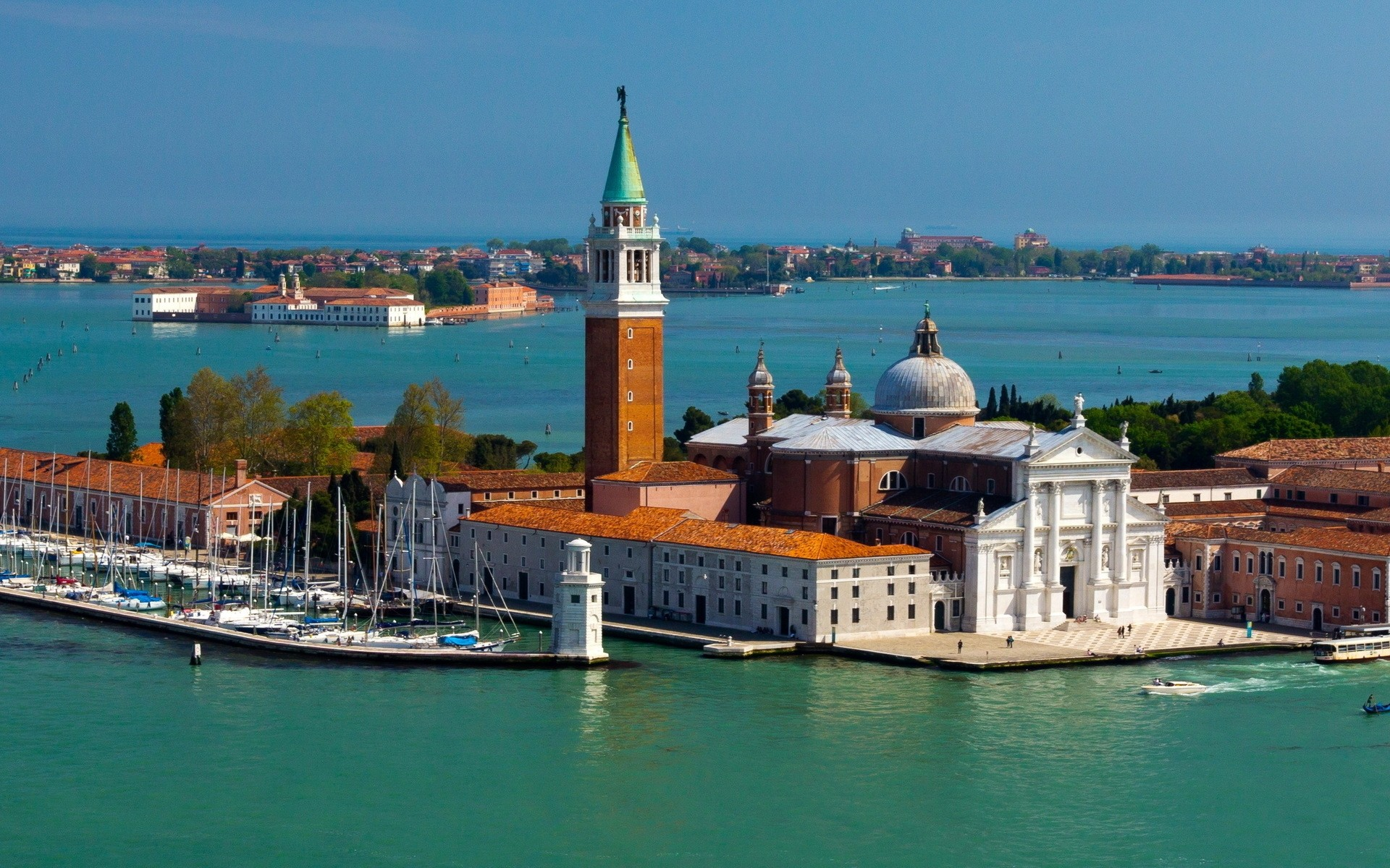 italy water travel watercraft architecture city harbor sea boat canal building ship transportation system sky cityscape town tourism outdoors river pier island san giorgio maggiore venice church