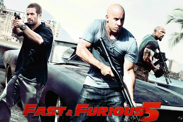 fast five vin disel is a great blockbuster film fast and furious 5