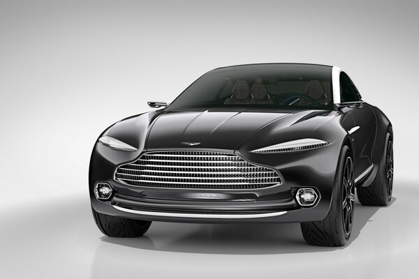 Aston Martin DBX Concept Front View