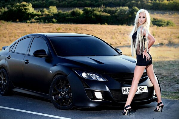 auto Moto tuning equipment sports girls Wallpaper pictures