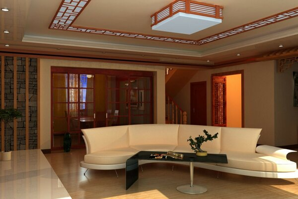 the sofa Interior. room apartment design style