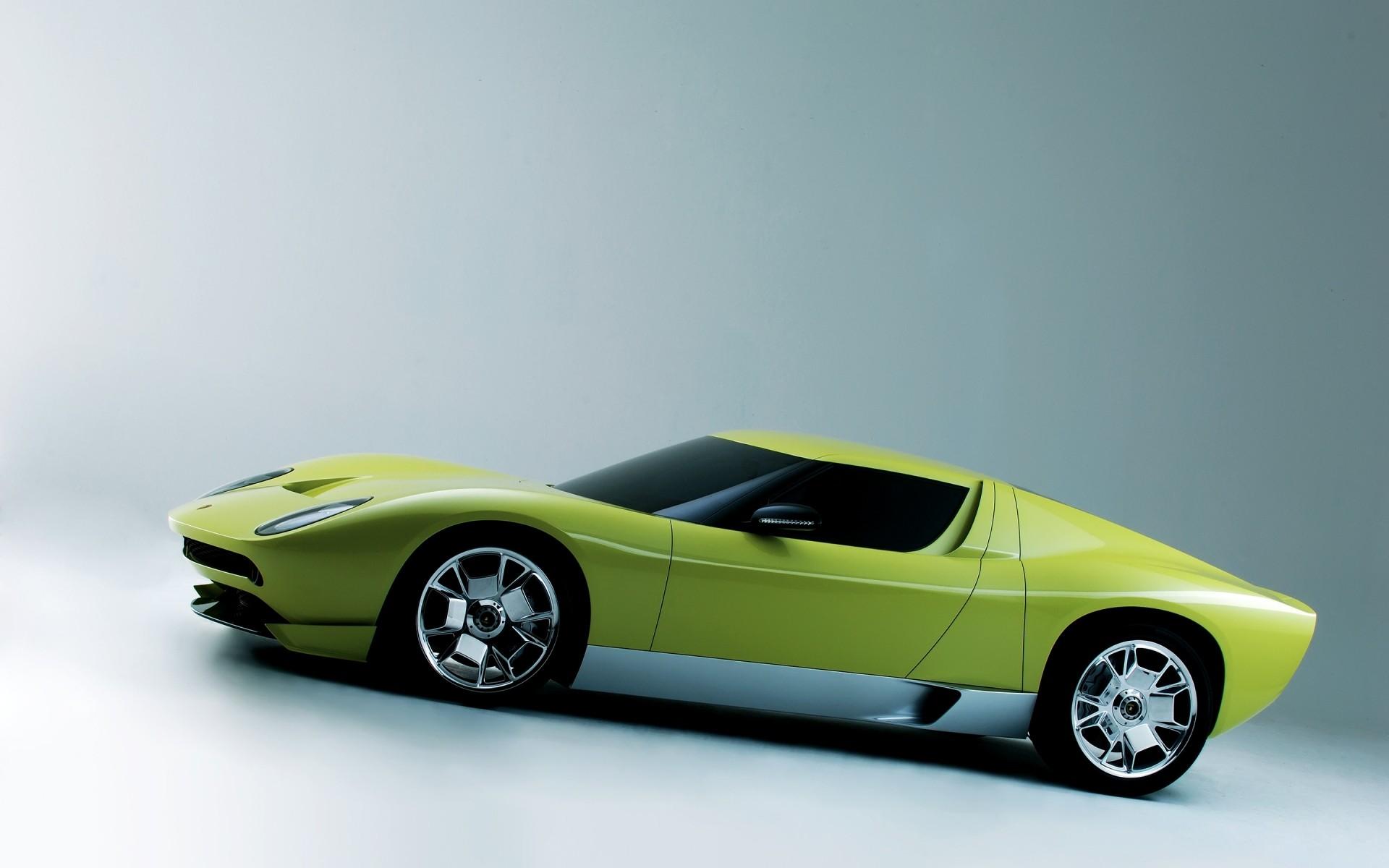 Lamborghini Miura Concept Side Iphone Wallpapers For Free