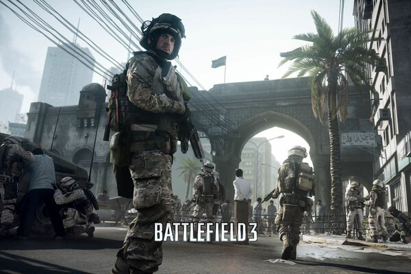 soldiers tanks battlefield fighter Battlefield 3