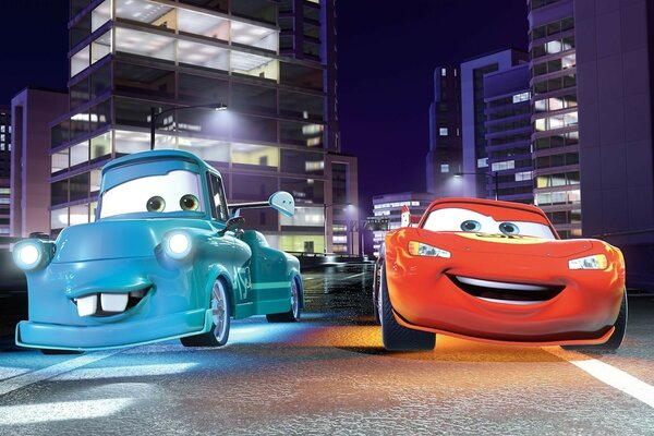 Cartoon Cool Cars