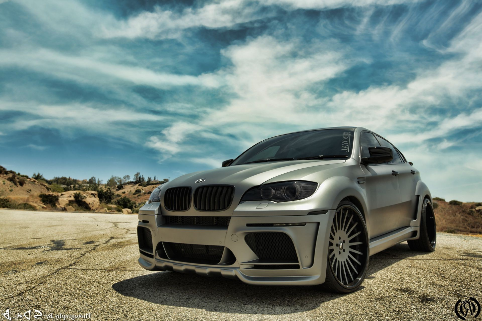sun clouds BMW tuning Bmw x6 awesome sky road