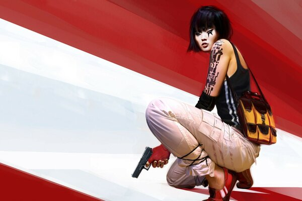 Mirrors Edge Faith Connors