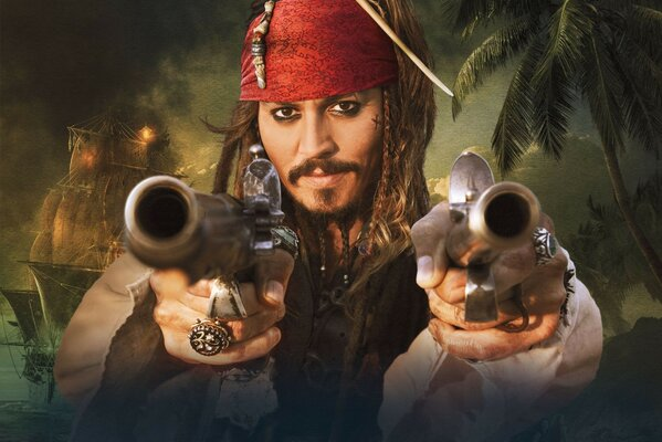 Pirates of the Caribbean on strange shores Jack
