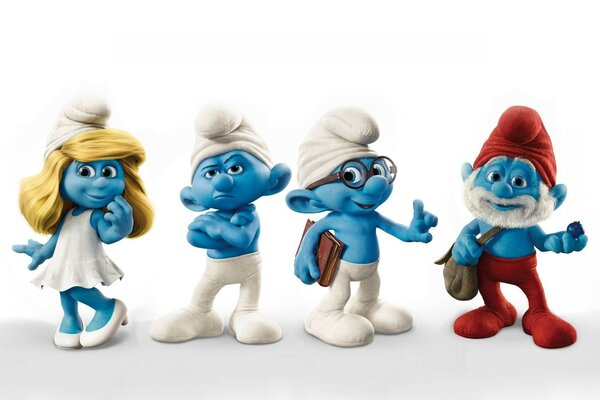 Smurfs the Smurfs blue creatures the smurfs cartoon