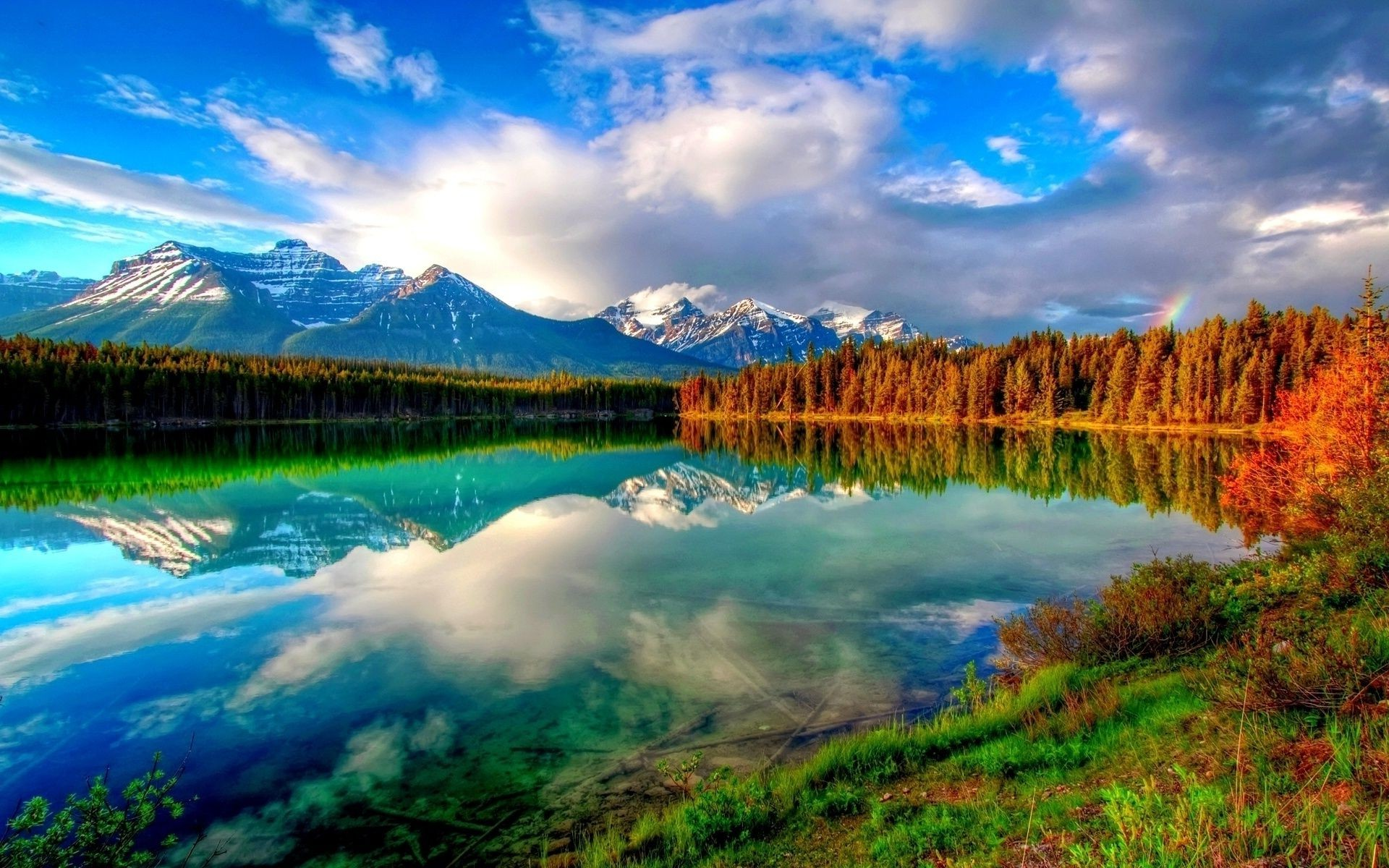 lake water reflection landscape nature dawn outdoors wood sky travel mountain scenic fall sunset river snow tree