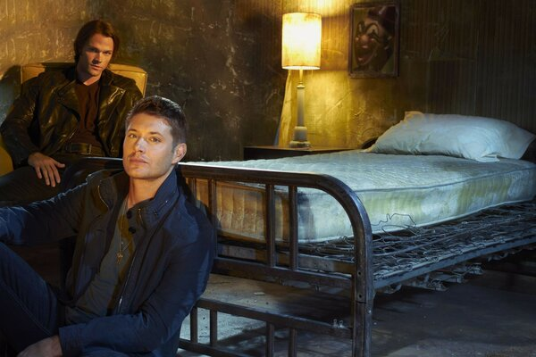 sam dean Winchester Supernatural TV series promo
