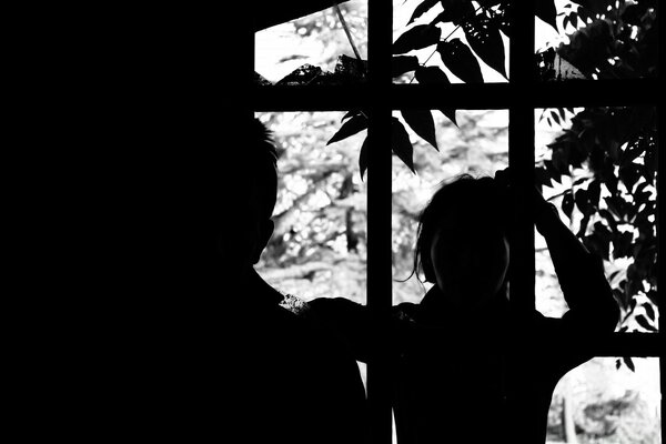 Black And White Silhouette Photography