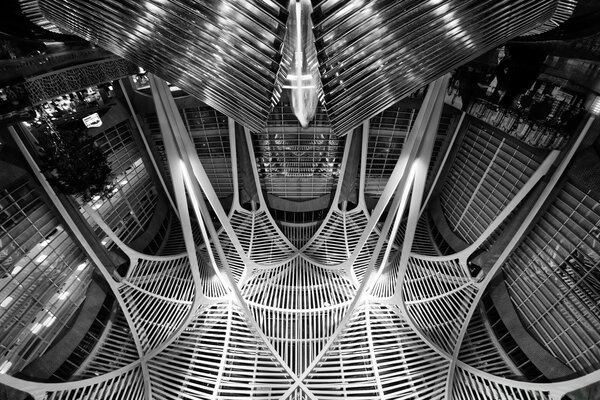 Allen Lambert Galleria Black and White