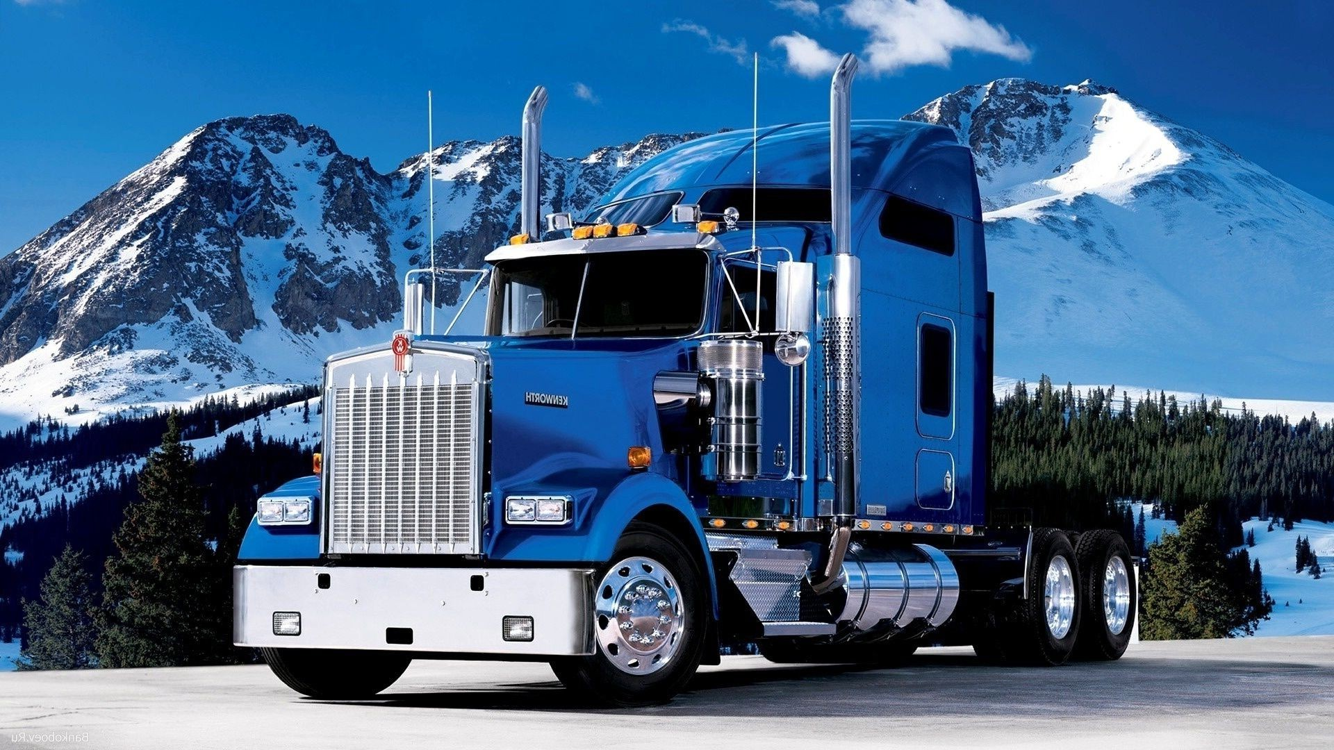 желтый грузовик  № 204845  скачать
