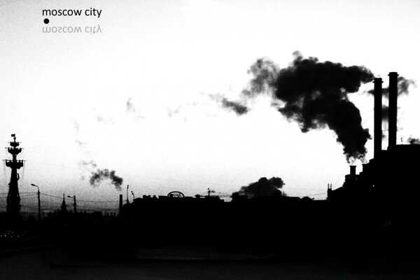 Moscow In Black And White