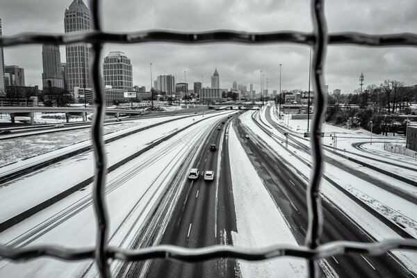 Atlanta Snow Day