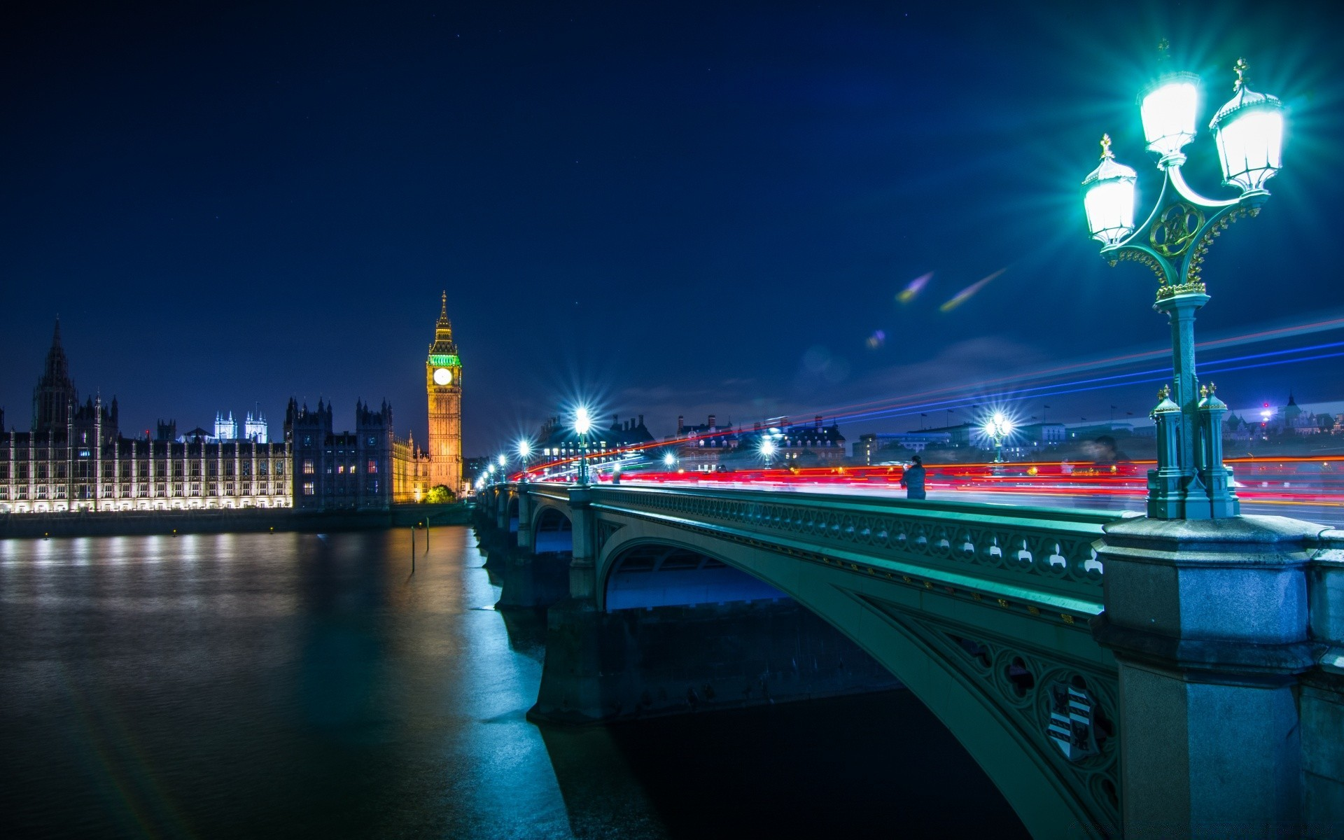 London Night Photography Free Wallpapers