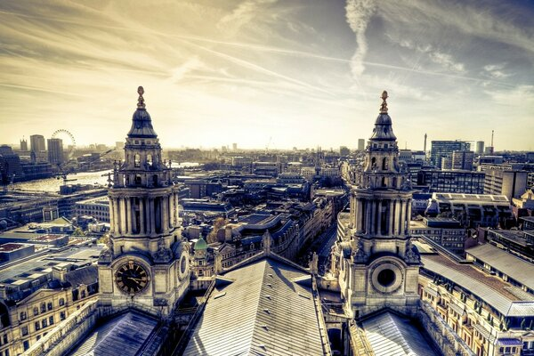London Panorama From St Paul s