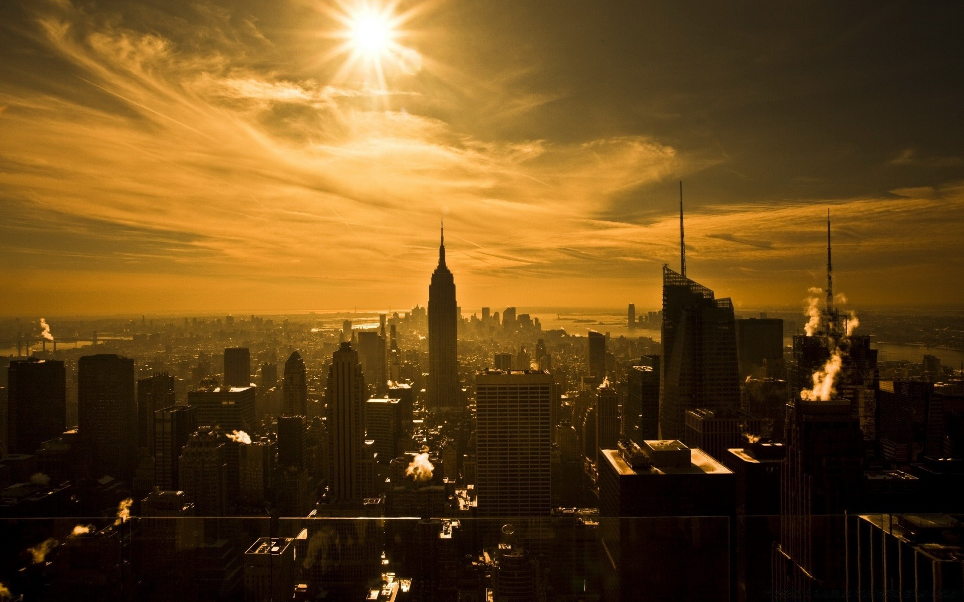 Empire State Building New York City Free Wallpapers