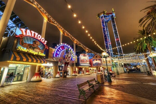 Amusement Park HDR