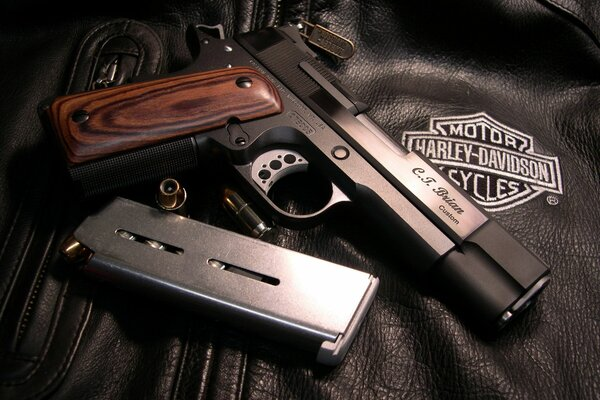 caspian arms ltd custom ammo holder Colt 1911, colt