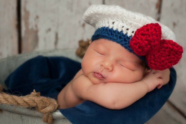 Newborn Baby Sailor