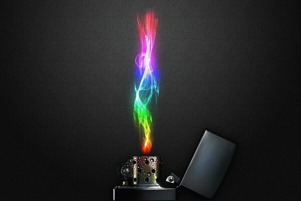Color Flame fire lighter color