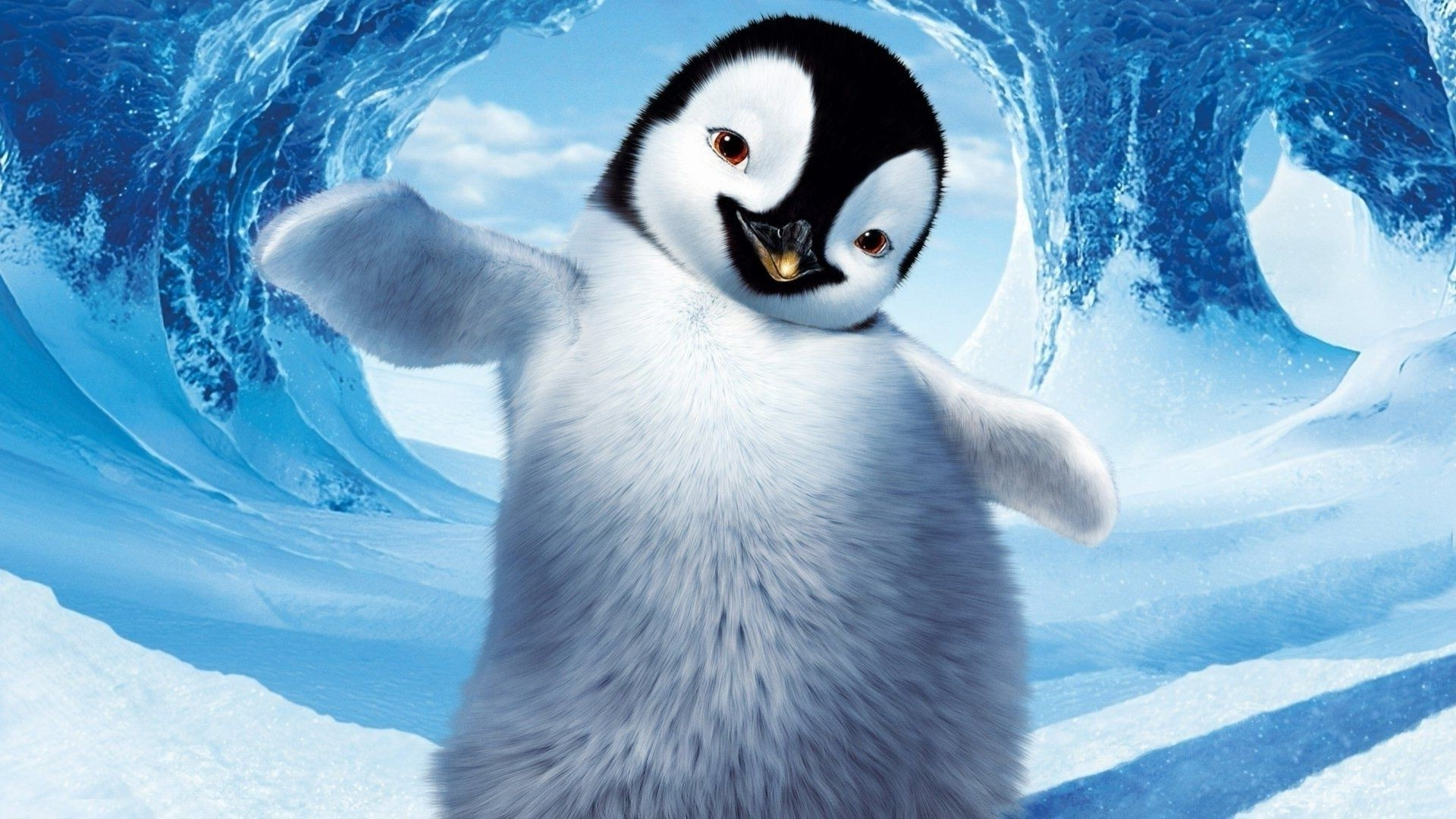 Happy Feet Ice Snow Cartoon Character Penguin Android