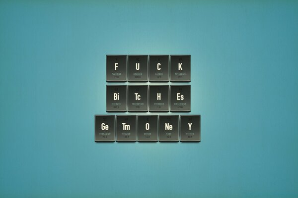 Funny Chemistry Periodic Table