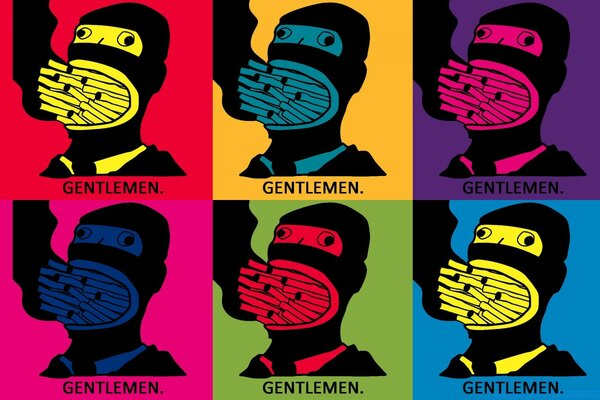 Gentlemen Pop Art