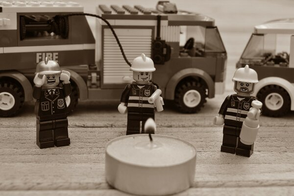 Always Trust The Lego Firemen