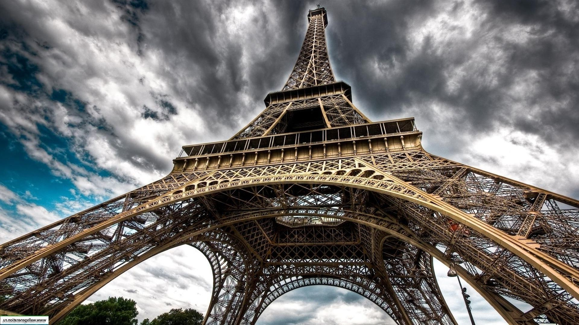 Eiffel tower - Paris iron sky monument architecture