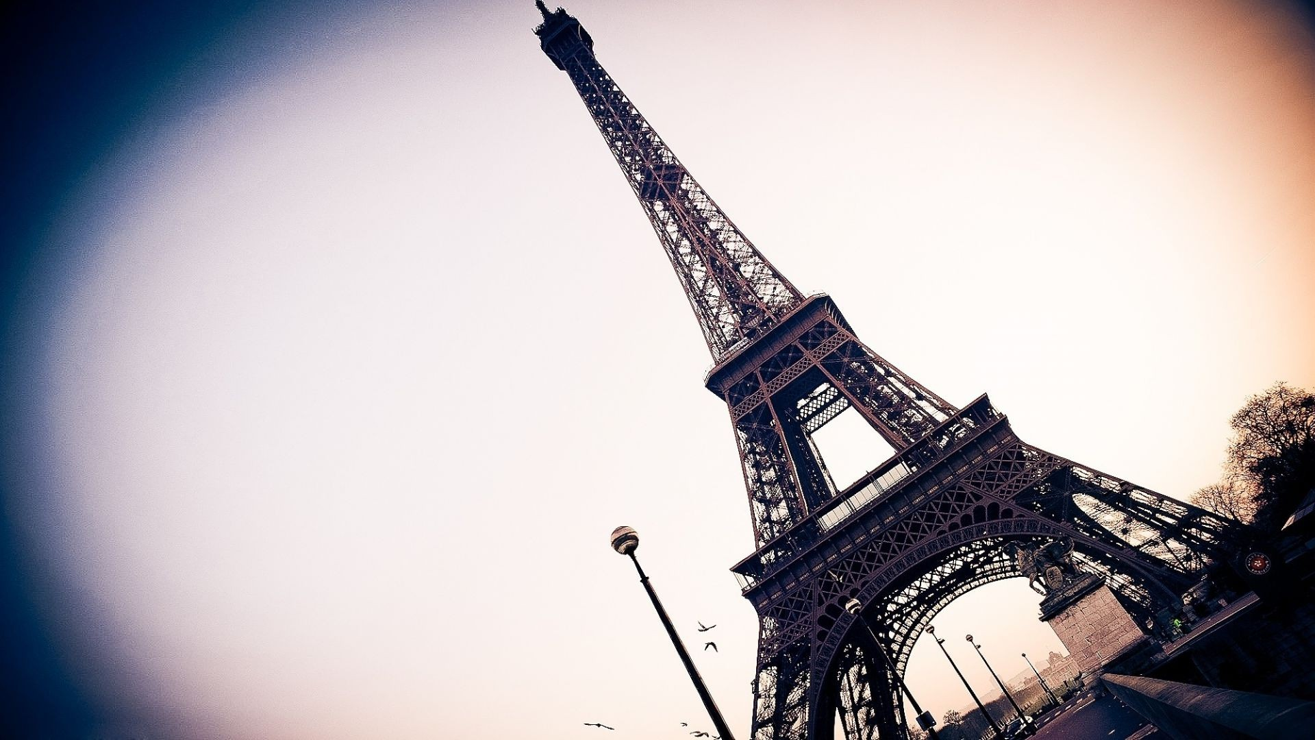 Paris France Eiffel tower Wallpaper city