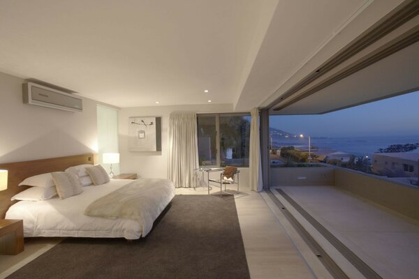 ocean sea luxury penthouse Apartment bedroom penthouse