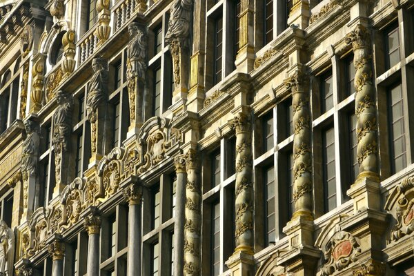 Brussels Old Architecture