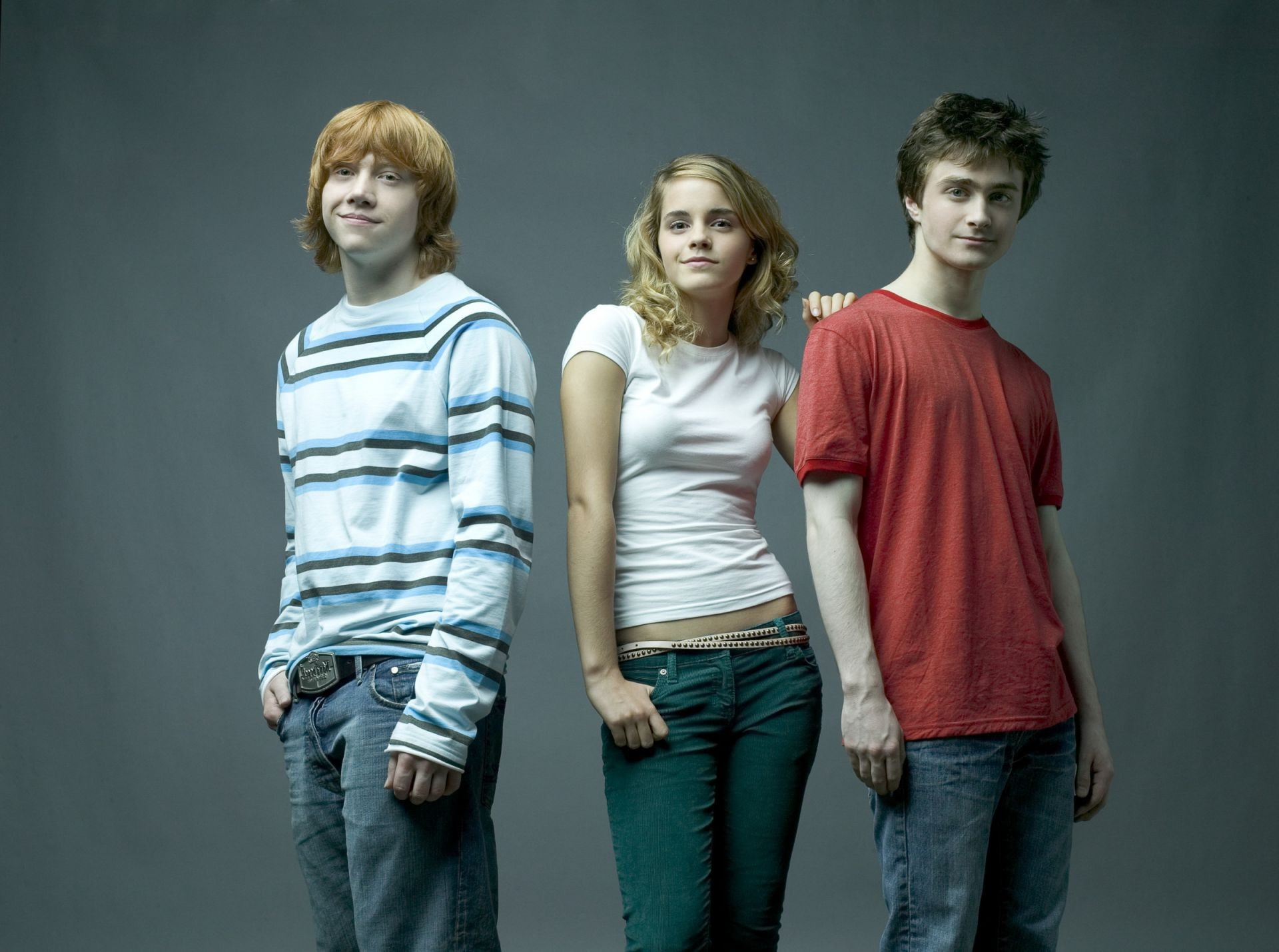 Harry Potter Hermione Ron 3 Phone Wallpapers