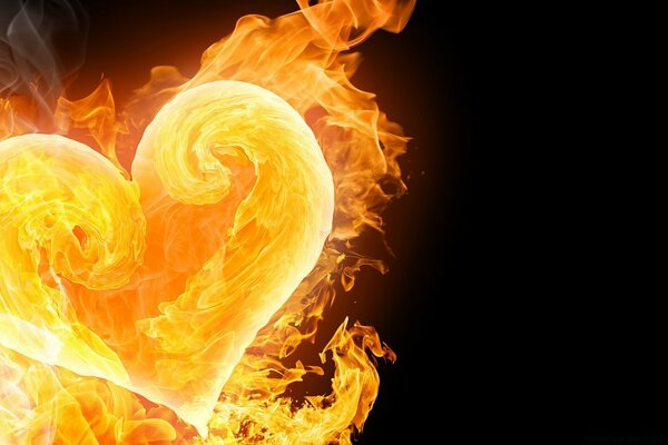Amazing Flaming Heart
