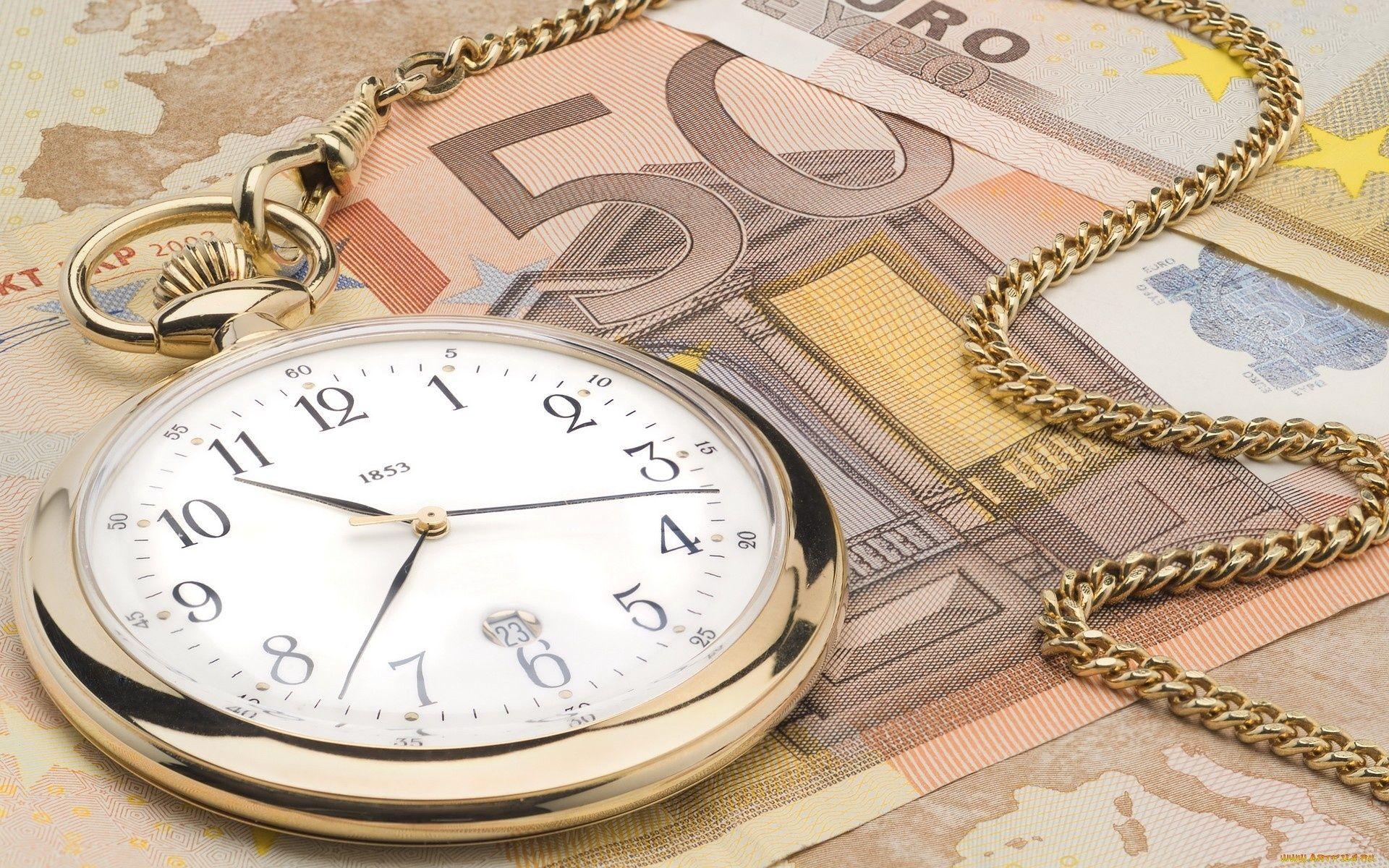 Карманные часы и скатерть  № 2171685  скачать