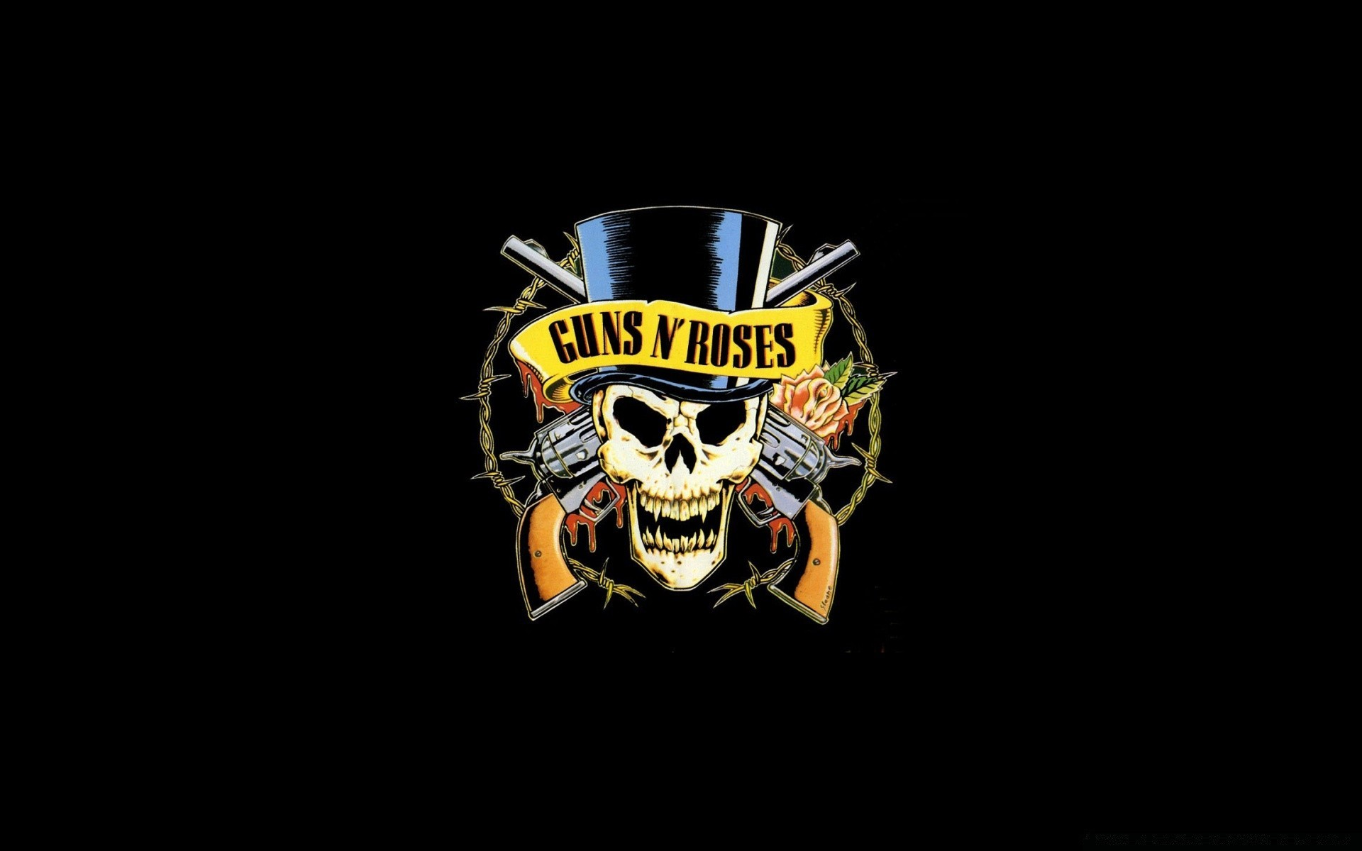 Guns N Roses Logo Hd Android Wallpapers