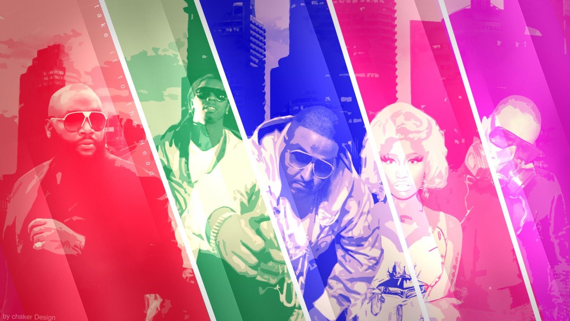 Chris Brown Nicki Minaj Rick Ross Dj Khaled Lil Wayne