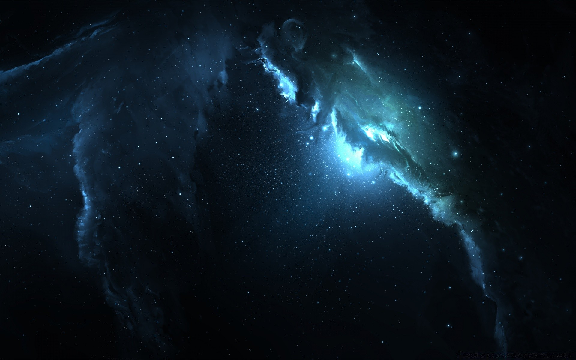Atlantis nebula 3 dual monitor phone wallpapers - Wallpaper abyss categories ...