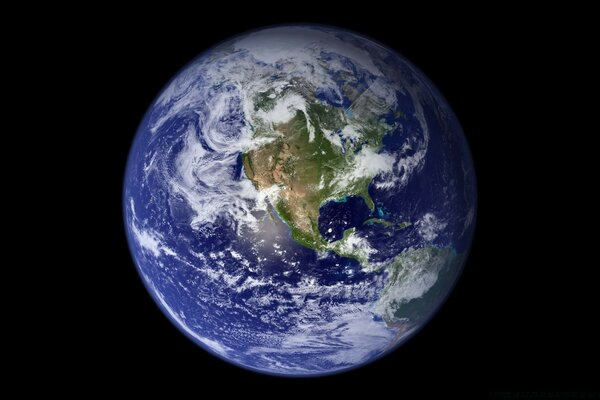 The Blue Marble Earth