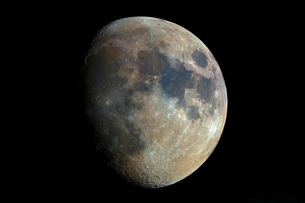 High Resolution Photo of the Moon