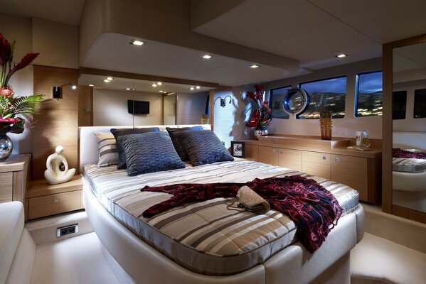 atmosphere Interior design bed cabin furniture
