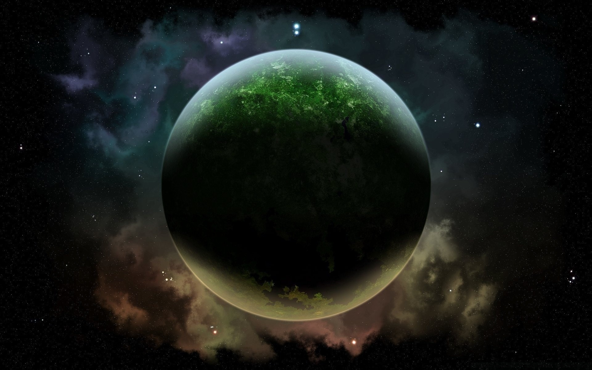 green planet. android wallpapers for free.
